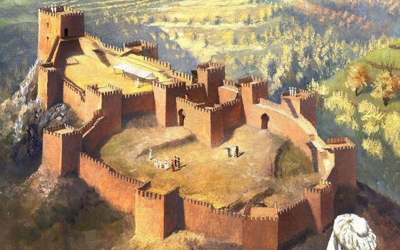 Reconstrucción del castillo almohade de Jerez del Marquesado, Rocío Espín para Desperta Ferro. Más en www.elgrancapitan.org/foro
