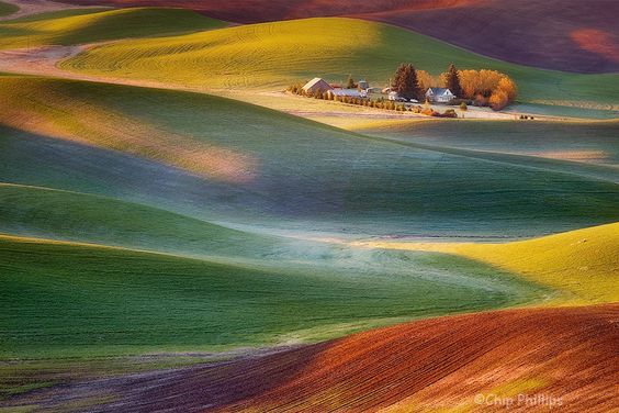 This Almost Unreal Photo Of The Hills In Palouse, Washington