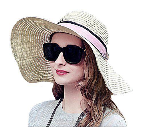 Genda 2Archer Womens Straw Derby Cap Floppy Wide Brim Straw Sun Hat Cap (1 Piece , Style 1 ) Genda 2Archer http://www.amazon.com/dp/B01EFOI2OM/ref=cm_sw_r_pi_dp_K0yfxb0FSETKK