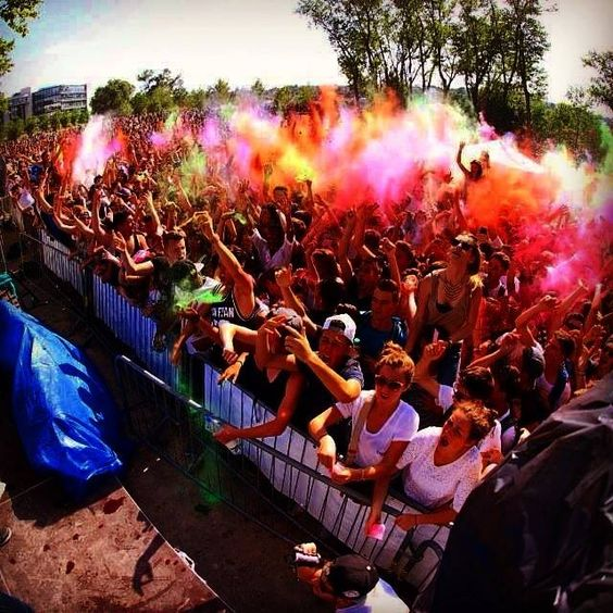 Sunday 8/6/2014 - Celebrate Holi (kind of) with music, beer and friends.