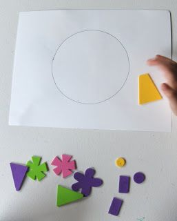 The Activity Mom: Listening Activity with Foam Stickers
