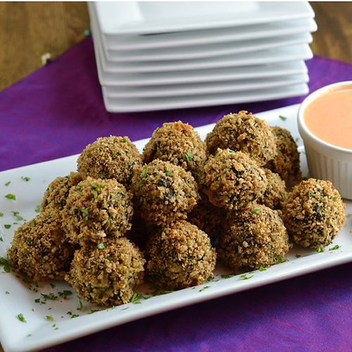 Spinach-Feta Risotto Balls (Click Pic for Recipe) I completely swear by CLEAN eating!! Follow my blog  To INSANITY and back....  One Girls Journey to Fitness, Health, & Self Discovery.... http://mmorris.webs.com