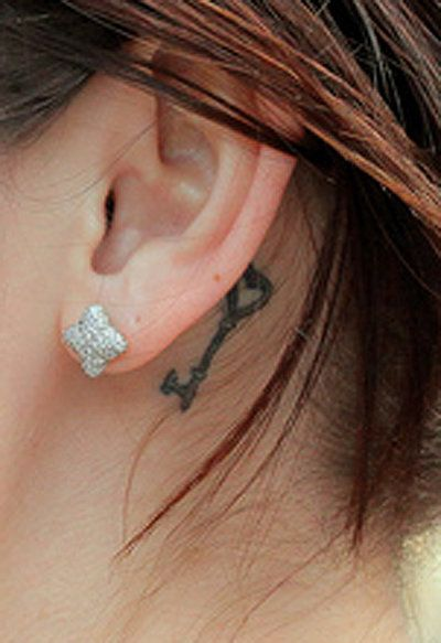 Always wanted a tattoo behind my ear... maybe not this one but I love the placement