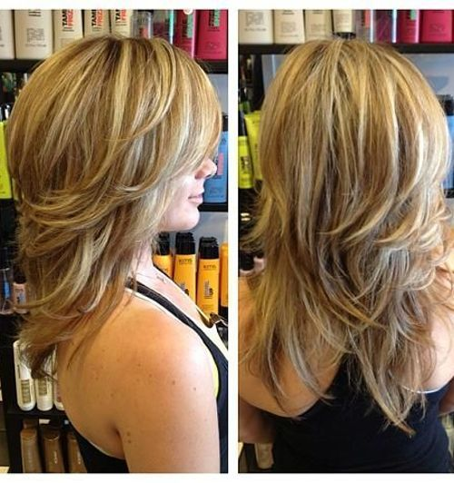 Most Stunning Highlights Layered Hairstyles 2016 http://www.setteroftrends.com #hairstyles #hairtrends #hair