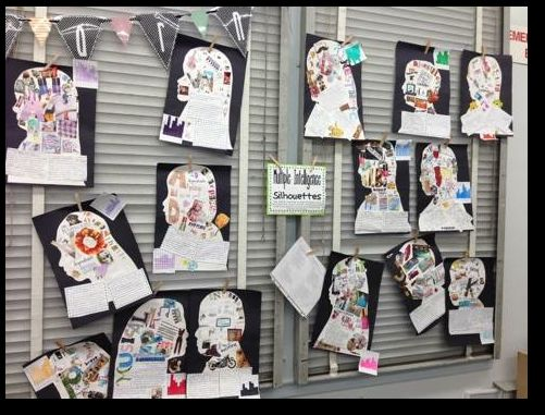 Multiple Intelligence Silhouettes: A GREAT Open House OR Back to School Project!