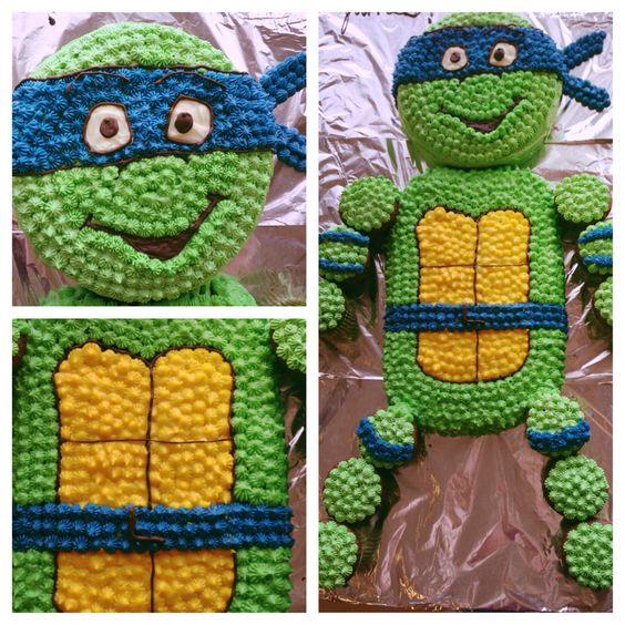 ... Turtles cupcake cake | Cupcakes | Pinterest | Wedding, Ninja turtles