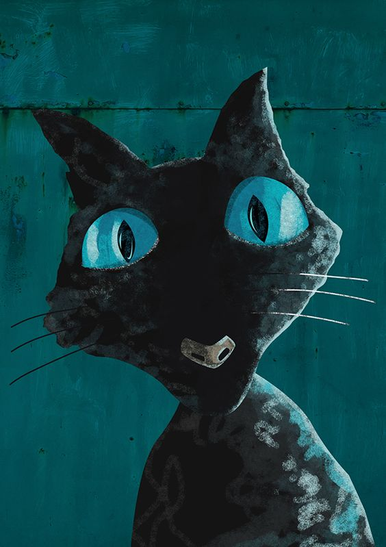 Coraline Cat on Behance | Novels and derivatives ...