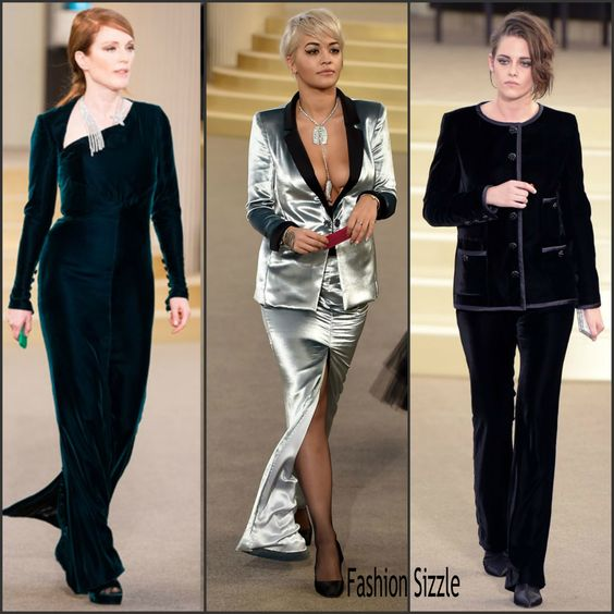 Chanel Fall 2015 Couture Front Row - READ MORE ON  http://fashionsizzle.com/chanel-fall-2015-couture-front-row/