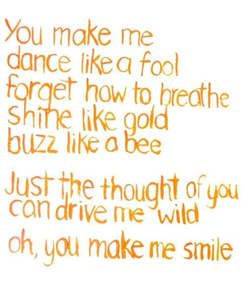 Lyrics containing the term: Dance With Me