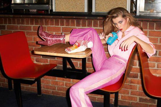 Roller Girl - Luna Bijl by Terry Richardson for Vogue Paris March 2017