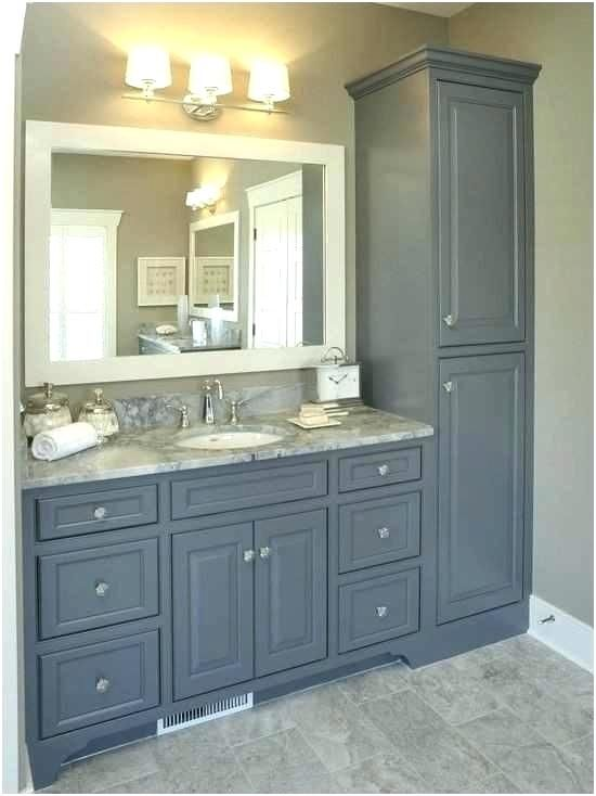 Long Skinny Bathroom Vanity Thin Bathroom Vanity Tall Narrow Bathroom Storage Cabinet A With Images Amazing Bathroom Remodels Budget Bathroom Remodel Bathroom Remodel Cost