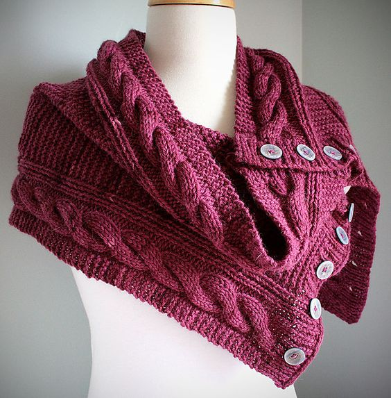 Jindabyne Cowl by Michelle Johnston  $3.50