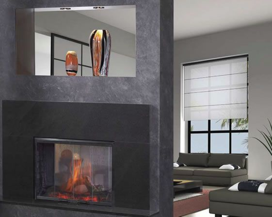 See Through Gas Fireplaces Heat N Glo Simplifyre See