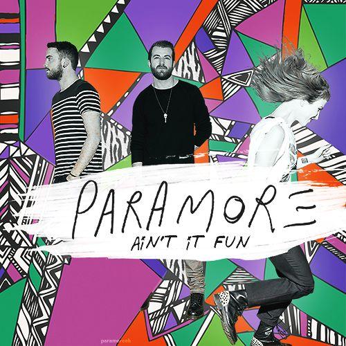 Paramore – Ain't It Fun (single cover art)