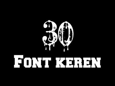 Kumpulan Font Keren Yang Sering Digunakan Editor Untuk Membuat Quotes Bagi Bagi Font Keren Youtube Di 2020 Photoshop Youtube Ghost Rider