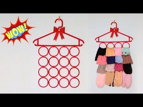 Ide Kreatif Gantungan Jilbab Dari Botol Bekas Hanger Jilbab