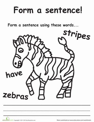 Words Using The Letters Zebras