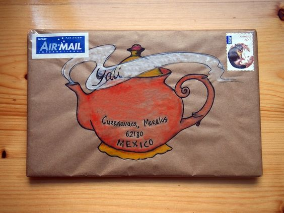 I managed to carve out some time during the past couple of weeks to write some mail and draw pictures on the envelopes, to send to blog readers. I hope these letters find them well, and that they e...: