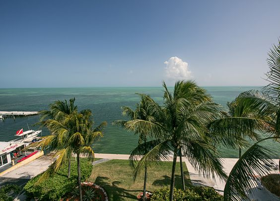 A newly renovated seafront hotel in the Florida Keys, with a private beach and a…