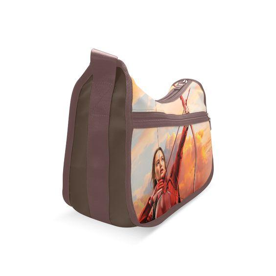 Psylocke Women's Fashion Single Shoulder Bag with Katniss The Hunger Games Print