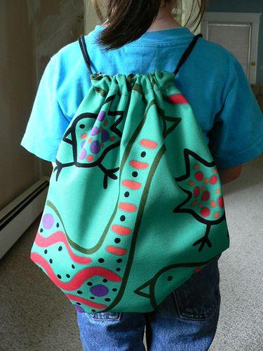 I really like this cinch sack