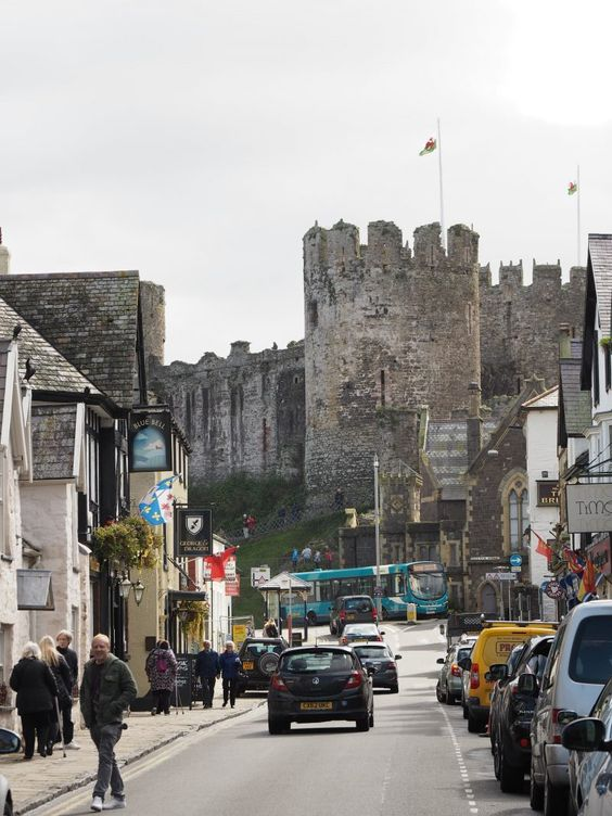 Highlights of North Wales, UK – Conwy castle and town