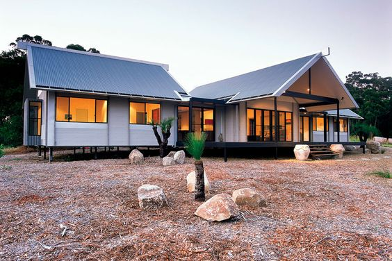 Corrugated Iron Cladding Our Home Pinterest