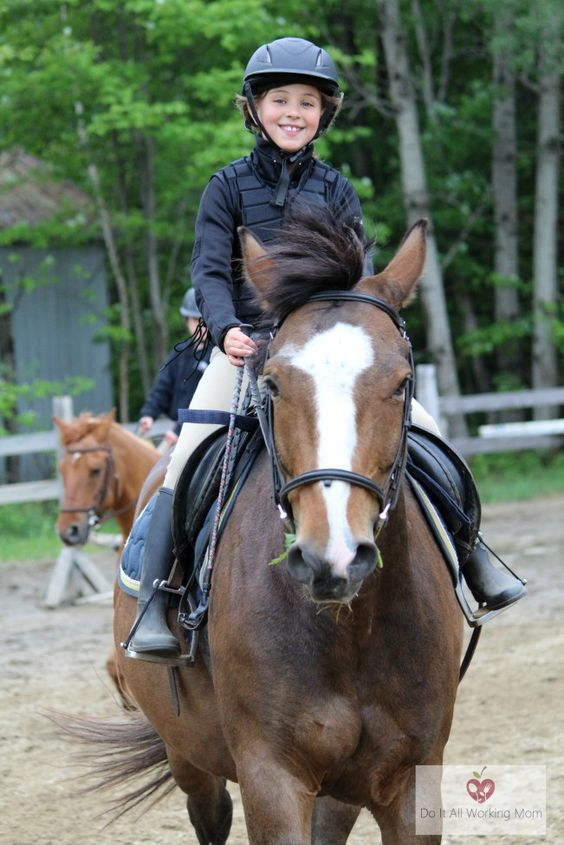 Benefits of Horseback Riding for Kids - Do It All Working Mom