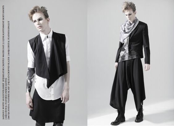 Androgynous clothing stores