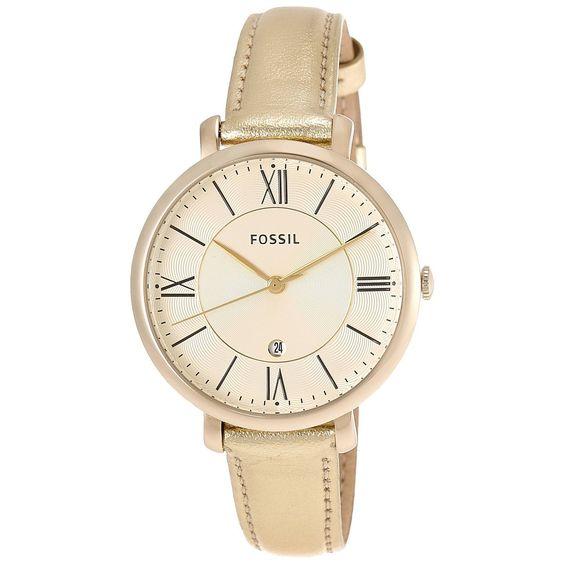 Fossil Women's Jacqueline Three-Hand Watch