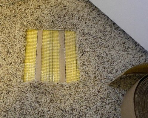 How To Fix A Carpet Burn Caused By An Iron Easy Diy Repair Carpet Tape New Carpet Carpet