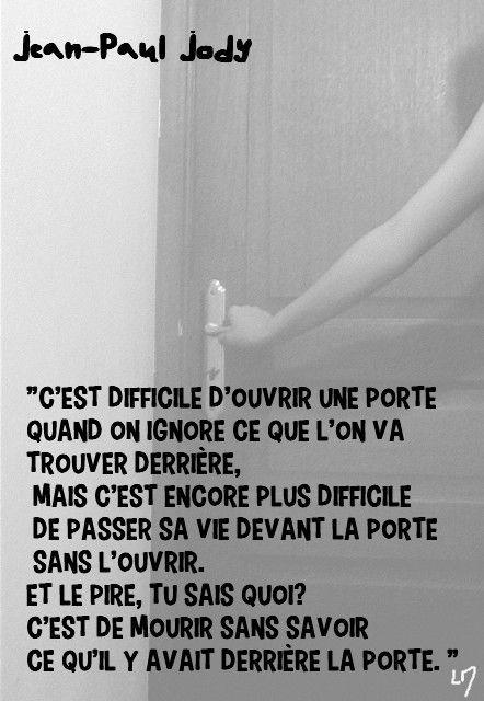 ouvrir une porte, Jean-Paul Jody