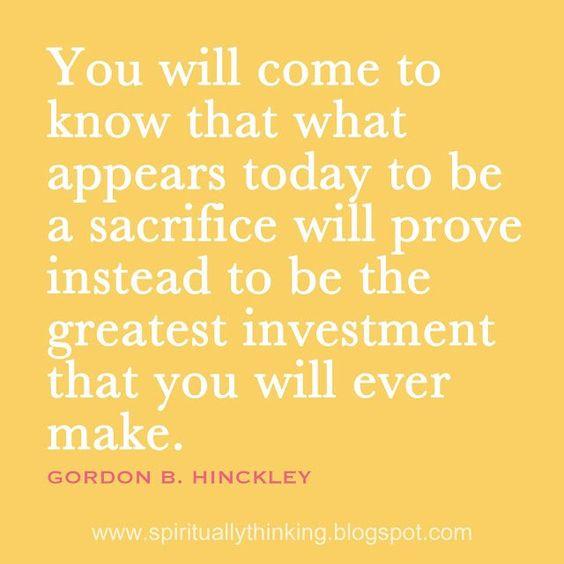 President Gordon B. Hinkley!