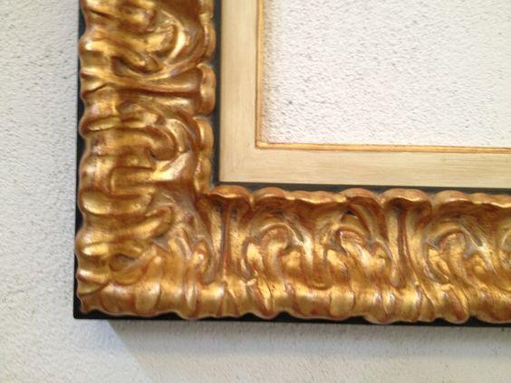 Enmarcacion madrid marco espejo barroco de una sola pieza for Precio de espejos sin marco
