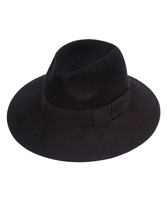 This Black Simply Classic Wool Panama Hat by Urbanista is perfect! #zulilyfinds