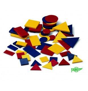 Bloques lógicos plástico