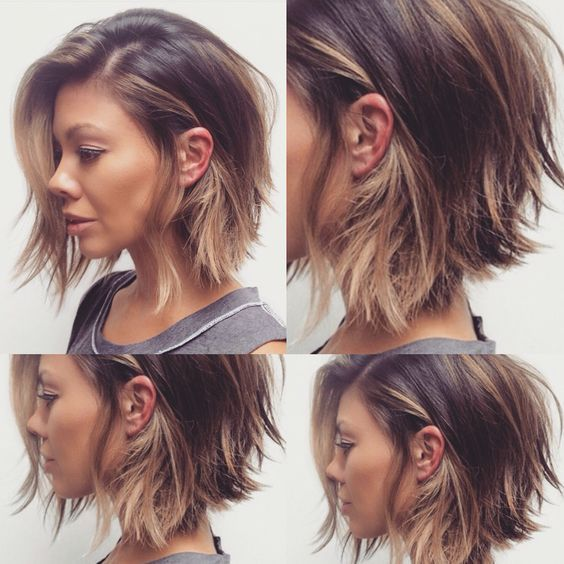 Growing Out Inverted Bob Haircut Hair Color Ideas And Styles For 2018