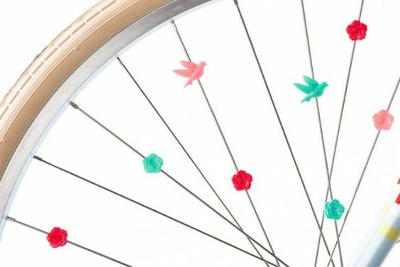 Beads Spoke Bicycle Accessories kids bike accessories