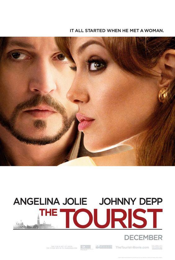 The Tourist: Movie Posters, Movies Books, Movies Tv, Tourist Movie, Depp Movie, Favorite Movies, Johnny Depp Angelina Jolie, Fav Movies, Favourite Movies