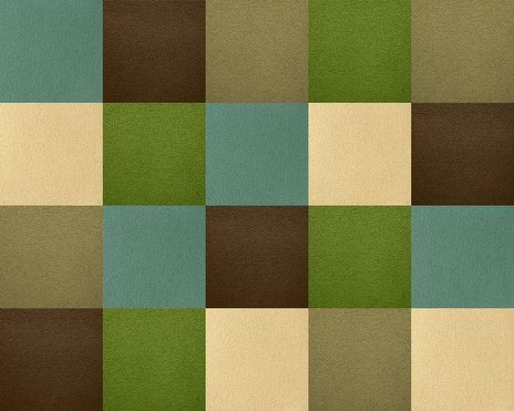 Our Big Sur Lush Glass Tile Colors Using Flor Carpet Tiles Via