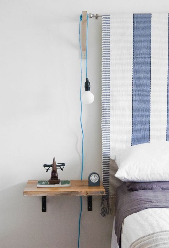40 Brilliant Space Saving Diy Floating Nightstand For Your