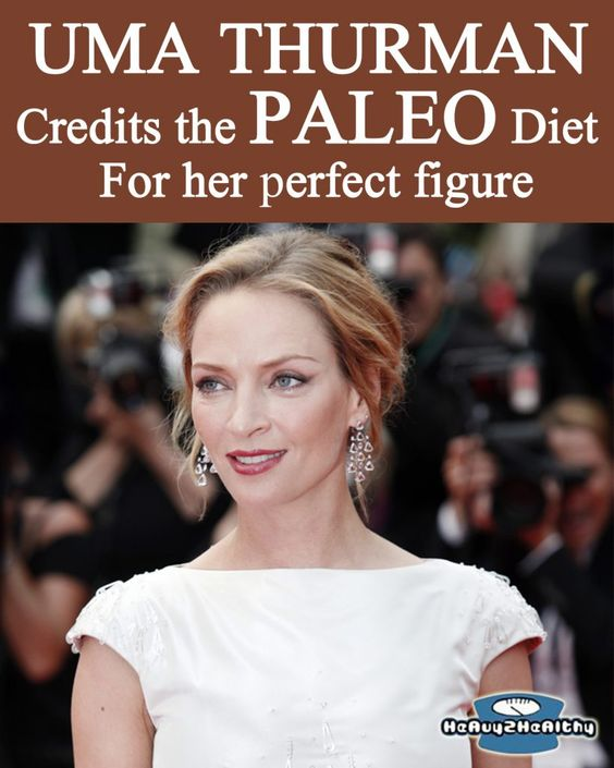 Paleo News - Uma Thurman Credits the Paleo Diet for Her Perfect Figure.