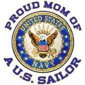Proud mom of a US Sailor!
