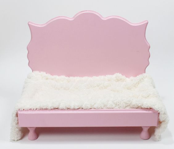 valentines day photo prop fancy whimsical baby bed prop