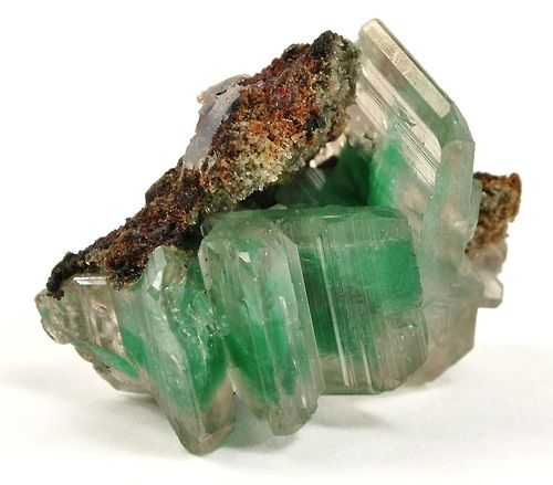 Cerussite with Malachite inclusions - Namibia