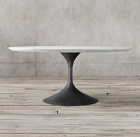 Dining Room Interiordesign Homedecor All Marble Concrete Tables Rh Dining Table Marble Round Marble Dining Table Oval Table Dining