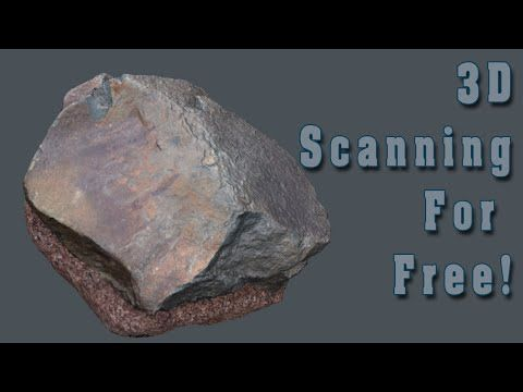 3D scanning for free! - YouTube