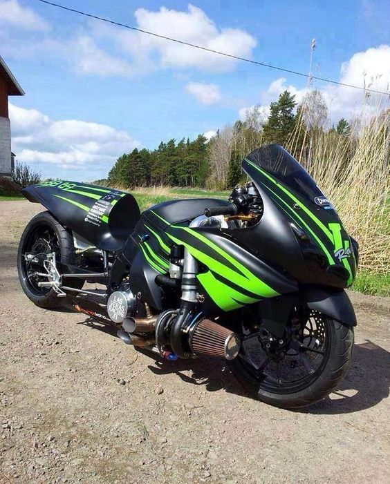 Motorcycle Turbo Modified: #motorcycle #drag #zoom!