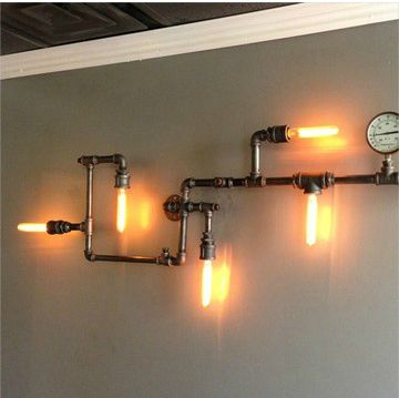 Vintage bar, Loft and Wall lamps on Pinterest