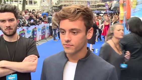 Tom Daley at the UK premiere of Finding Dory